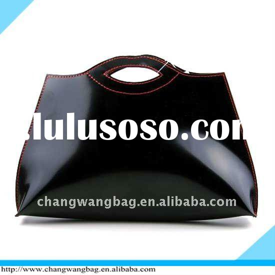 2012 fashion lady black hand bag