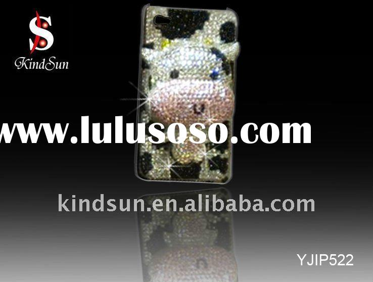 3d bling cell phone case with cute design