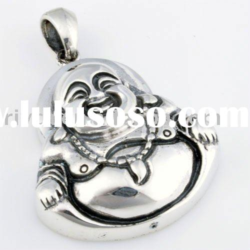 925 Sterling silver jewellery Maitreya Buddha Pendants or Charms