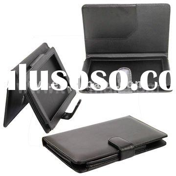 Black Flip Leather Case for Nook Color
