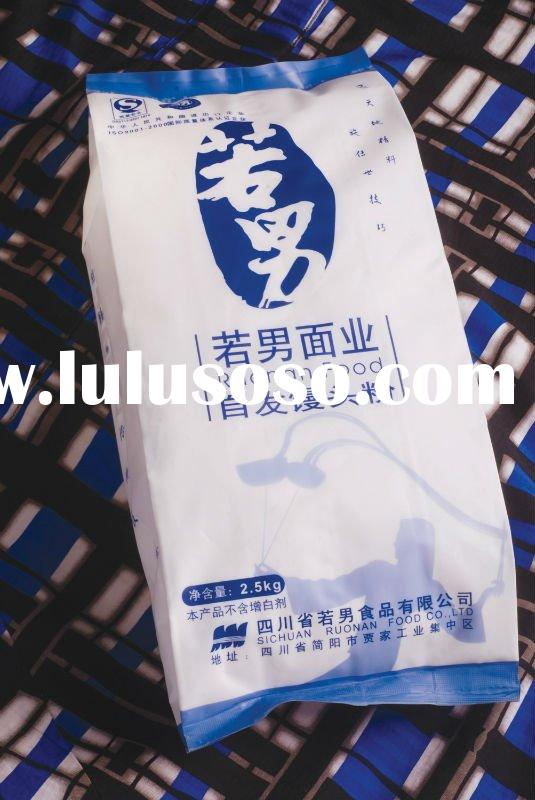 Chinese Food-Rising Wheat Flour- Green, pure water made, no additive precious selected width3mm