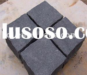 Chinese local basalt paver, curbstone,paving stone