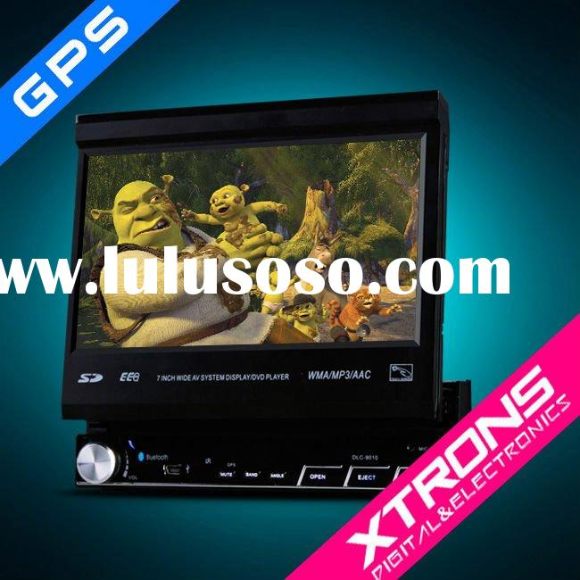 D710G:7 inch car GPS DVD player with digital screen