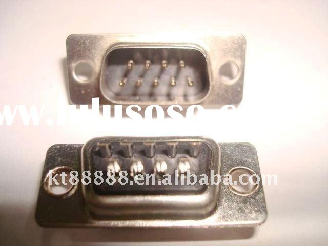 D-SUB DB9 male connector