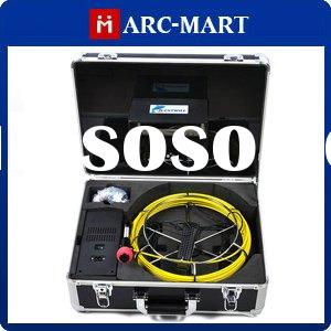 Drain Pipe Sewer Pipeline Inspection Detect Video Camera DVR 20M 7 inch #UC092
