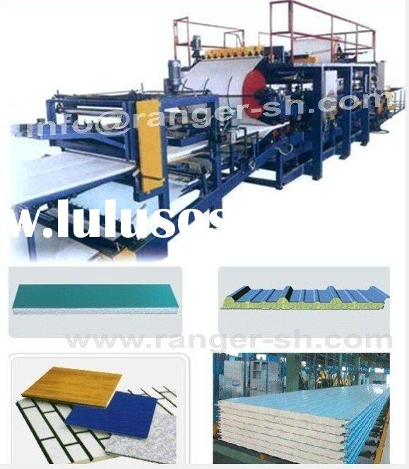 EPS Sandwich Panel Machine, EPS Sandwich Panel Production Line, EPS Sandwich Panel Line