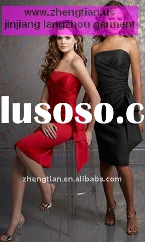 Elegant formal evening gown--two colors