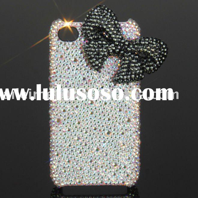 For iPhone Cases With Swarovski Crystal (4G-KTJ8-3) Paypal