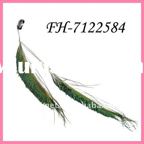 Hair clips FEATHER hair extensions