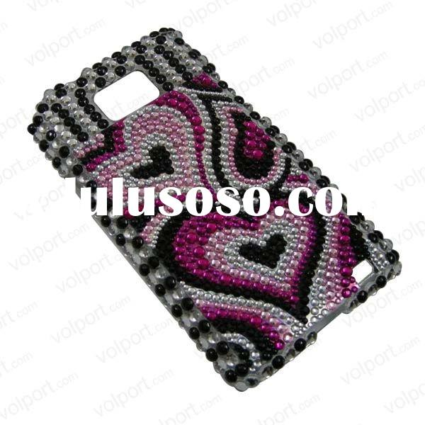 Hard bling case for Samsung Galaxy S2 I9100