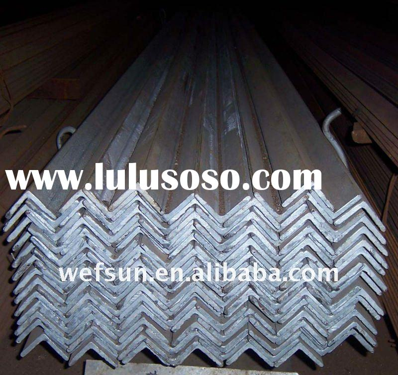 Hot rolled and Galvanized Steel Angle Bar / Beam Q235