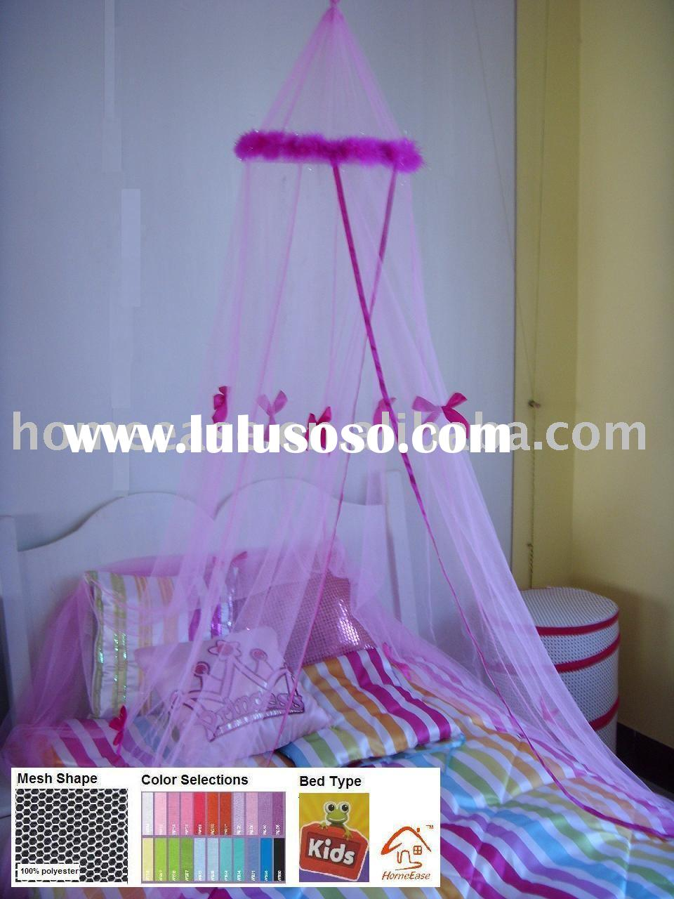 Mosquito net mesh bed Canopy with ribbons & Mosquito net - Mongolia bed canopy bed netting mesh canopy ...