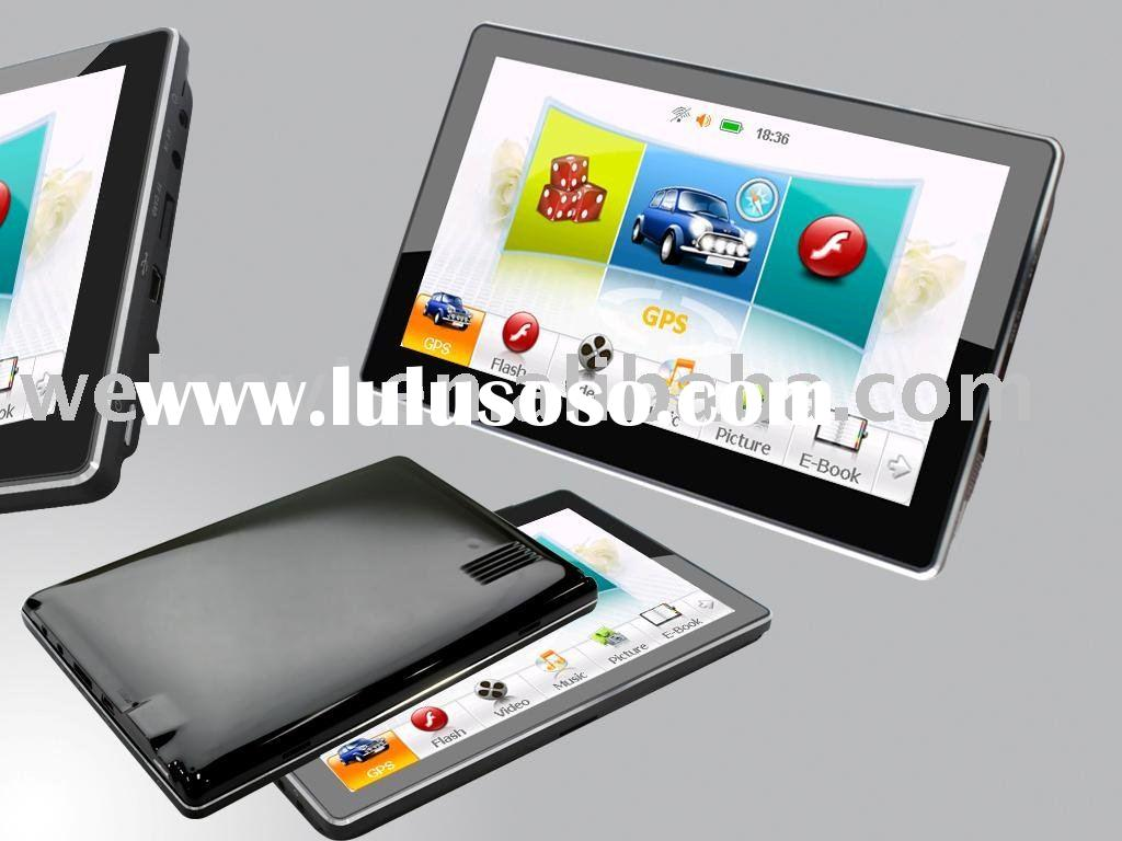 NEW MODEL!! HOT SELL!! 7 INCH PROTABLE MID with GPS function