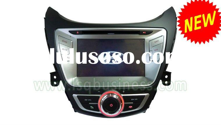 Newly 7 inch Hyundai Elantra Car DVD Player 2012 with GPS Navigation system!