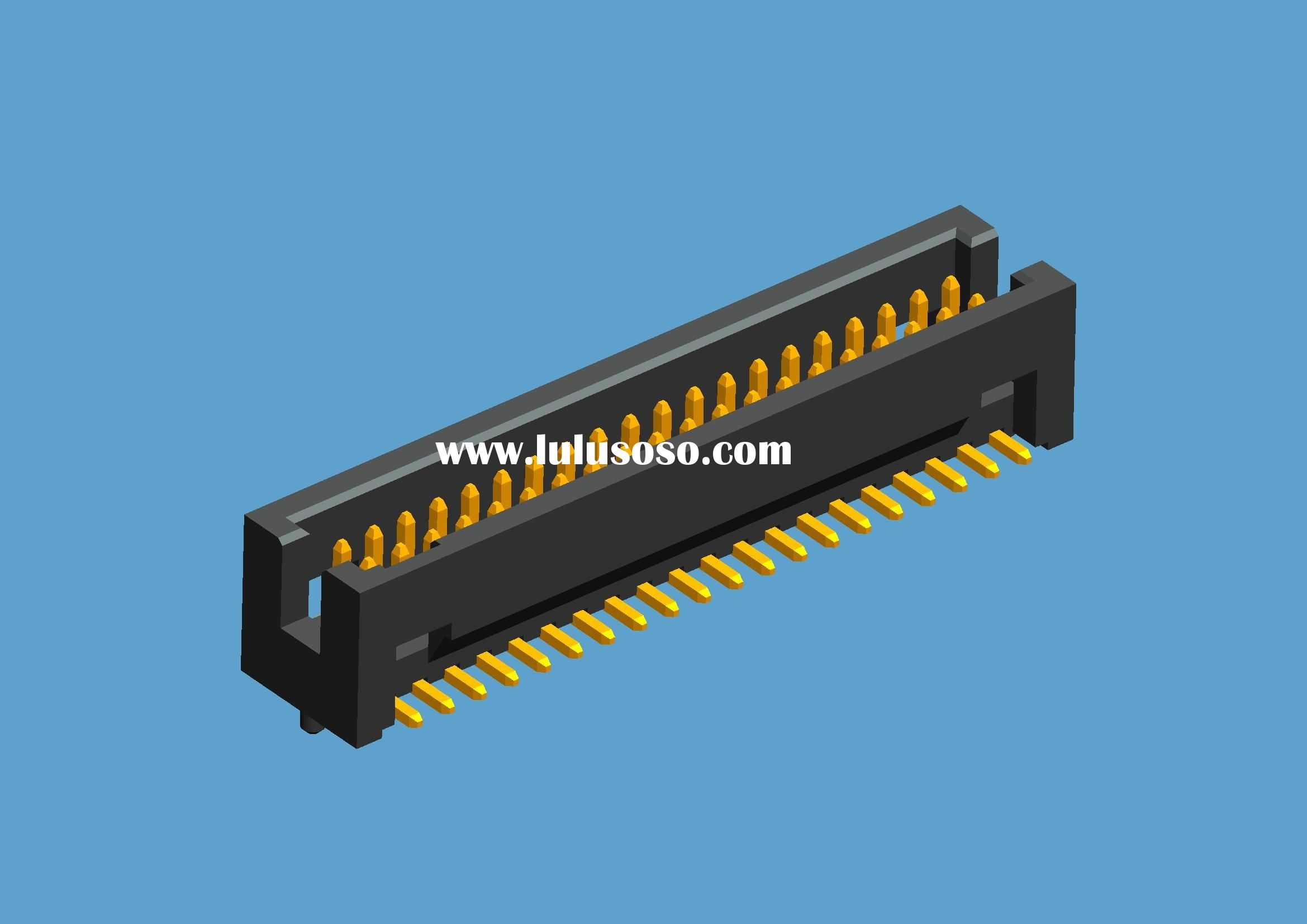 PCB CONNECTOR BOX HEADER 1.27MM PITCH SMT TYPE