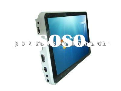 Portable Capacitive multi touch under WIN 7 OS 10.1 inch 3g wireless touch screen tablet pc