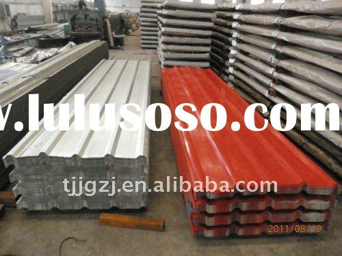 Prepainted Galvanized Corrugated Steel Roofing Sheet/Color Coated Trapezoid Roofing Tile/PPGI Metal