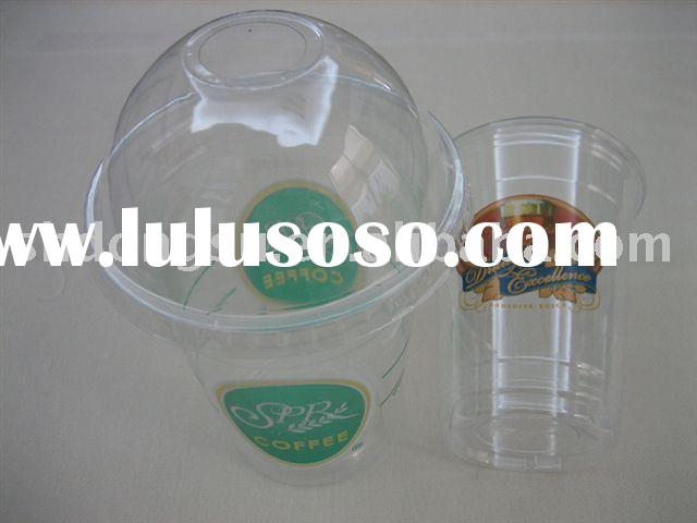 Printed PET Disposable Coffee Cups