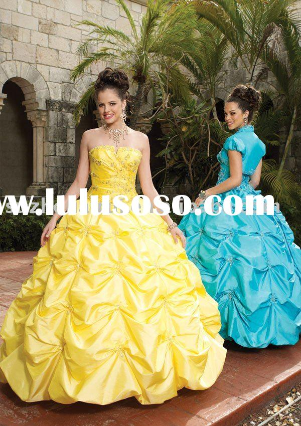 Q0076 Elegant Quinceanera Dress Ball Gowns 2011 new style