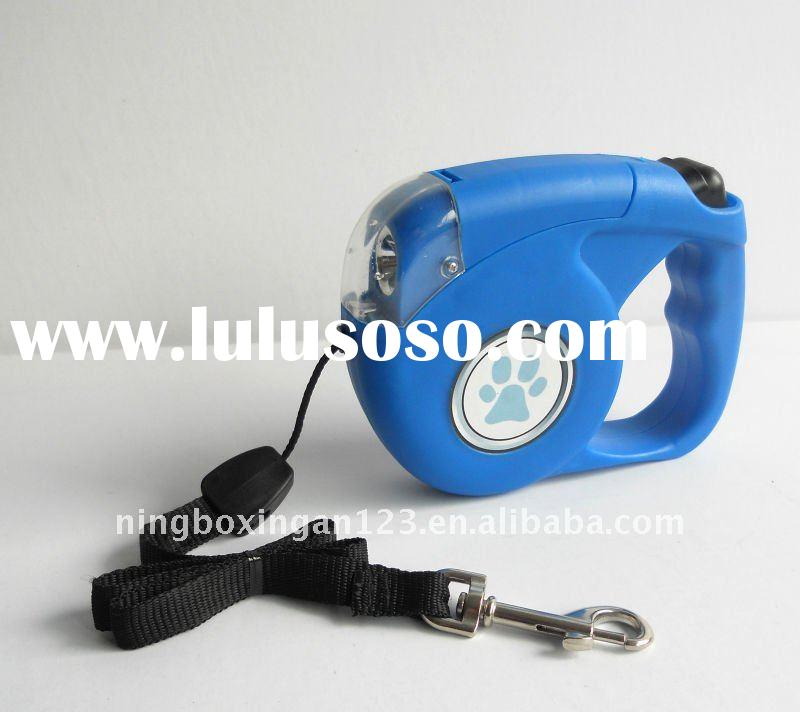 Retractable Dog Leash with light