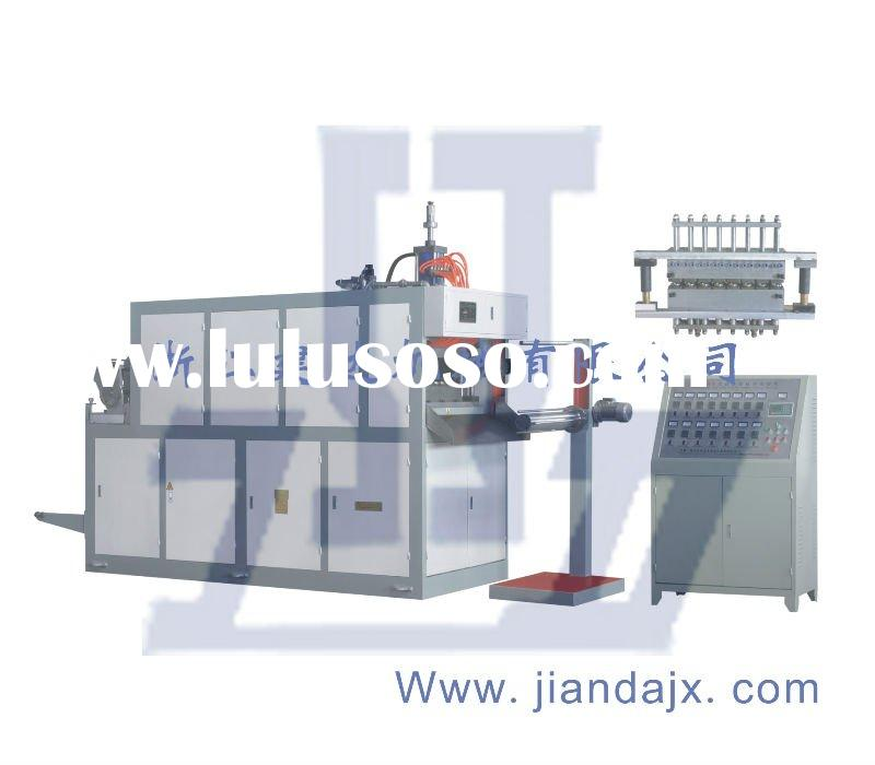 S)..JD660B plastic cup thermoforming machine
