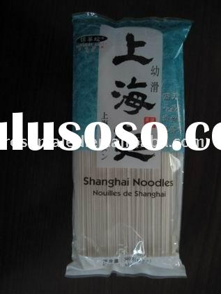Shanghai noodles or instant noodles or quick cooking noodles