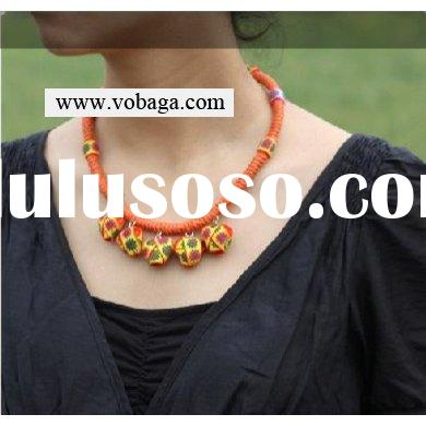 ethnic necklace fashion jewelry.handmade unique necklace