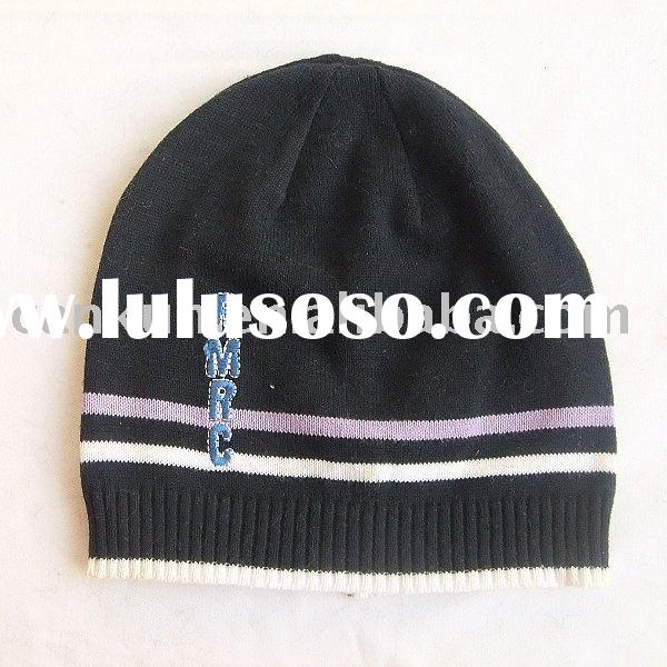 fashion knitted crochet baby winter cotton hat