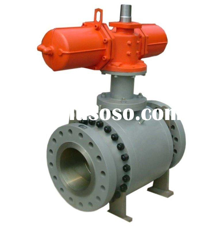 float actuated ball valve