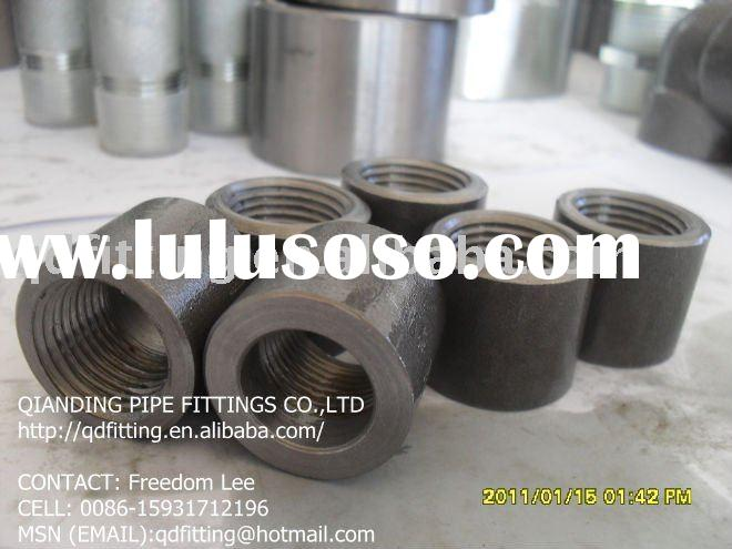 forged ansi b16.11 carbon steel a105 threaded npt half coupling