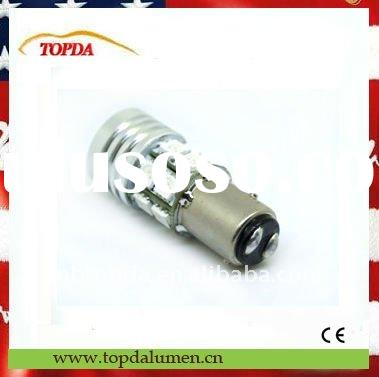 hot sell 1156 Auto LED bulb high power 7W with Cree Q5 chips with lens