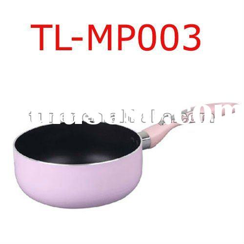 pink cookware set,happy call