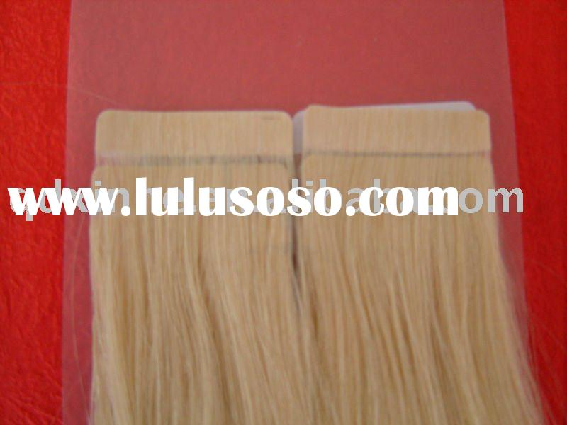 100%high quality remy tape hair extension wholesale