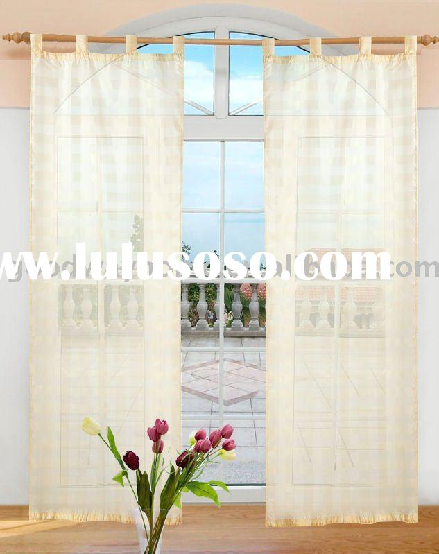100% polyester voile curtain curtain