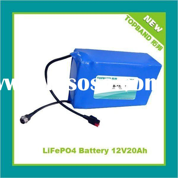 12V Rechargeable Battery for Golf Cart with BSM Wholesale Price