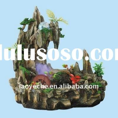 1326 resin rockery water fountain,indoor fountain,home decoration fountain