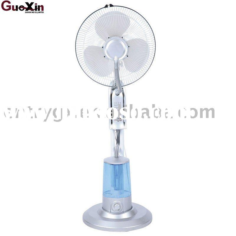 "16"" Simple design 2011 NEW humidifier mist stand fan GX-31G"