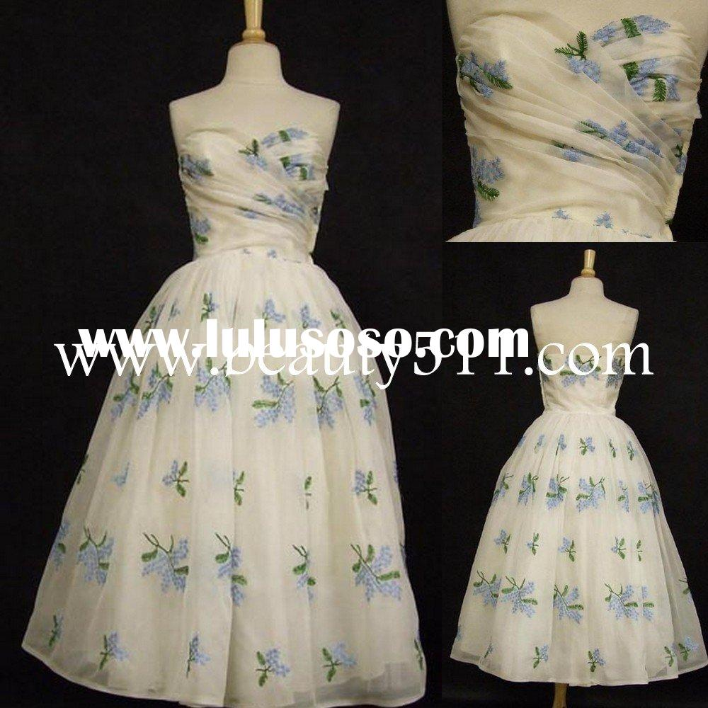 1950's prom ball gown dress EUAH0615