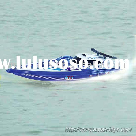 1/16 rc boat with 32 Inch length and water cooling 540 motor