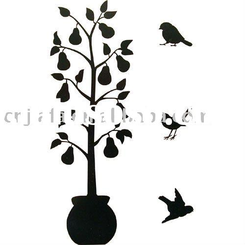 2011New House Decorative PVC Wall Sticker