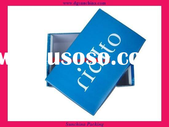 2011 Blue Color Paper Shirt Box for clothes packing (SC061220017)