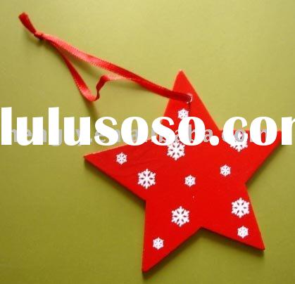 2011 Hot Sale laser cut Wooden Christmas Star 3878