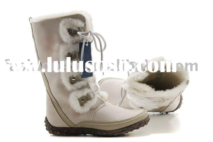 2011 Wholesale Fashion Brand Womens Snow Boots Fur