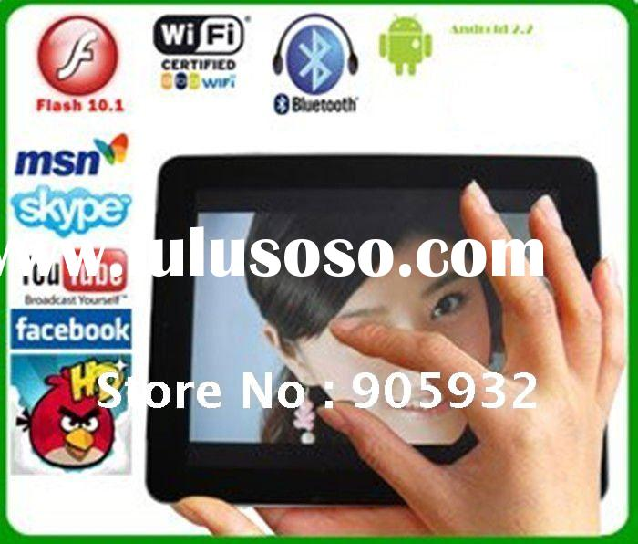 2011 new 7 inch Touch Screen Googel Android 2.2 3g Tablet PC, Wifi, Camera,bluetooth NEC ARM CORTEX