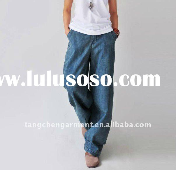 2011 new design women casual jeans, pajama jeans for women pants