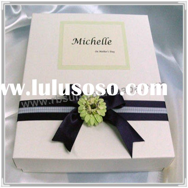 2011 popular wedding door gift box made of paper
