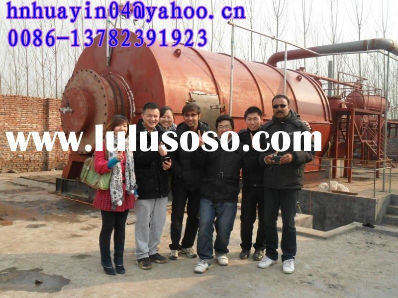 2012 HUAYIN brand Auto recycling plant to get diesel ang gasoline