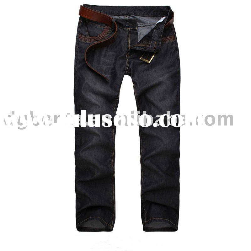2012 Hot Selling High Quality Newest Design Fashion Denim Jeans for Men