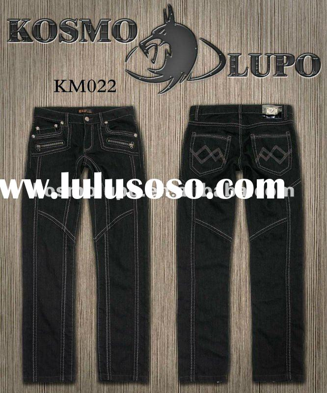2012 Men's Fashion Jeans Brands , Kosmo Lupo KM022