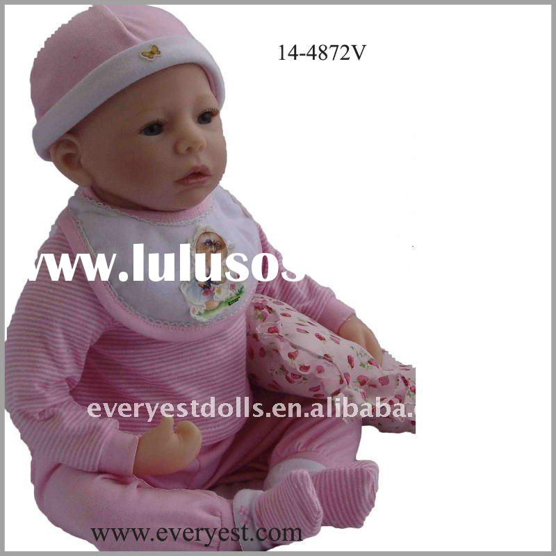 22inch real doll with adorable baby outfits